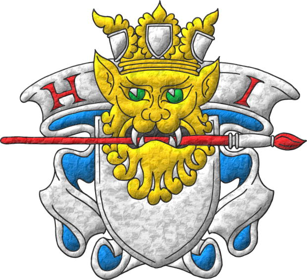 Heralds International, badge of the heraldic artists