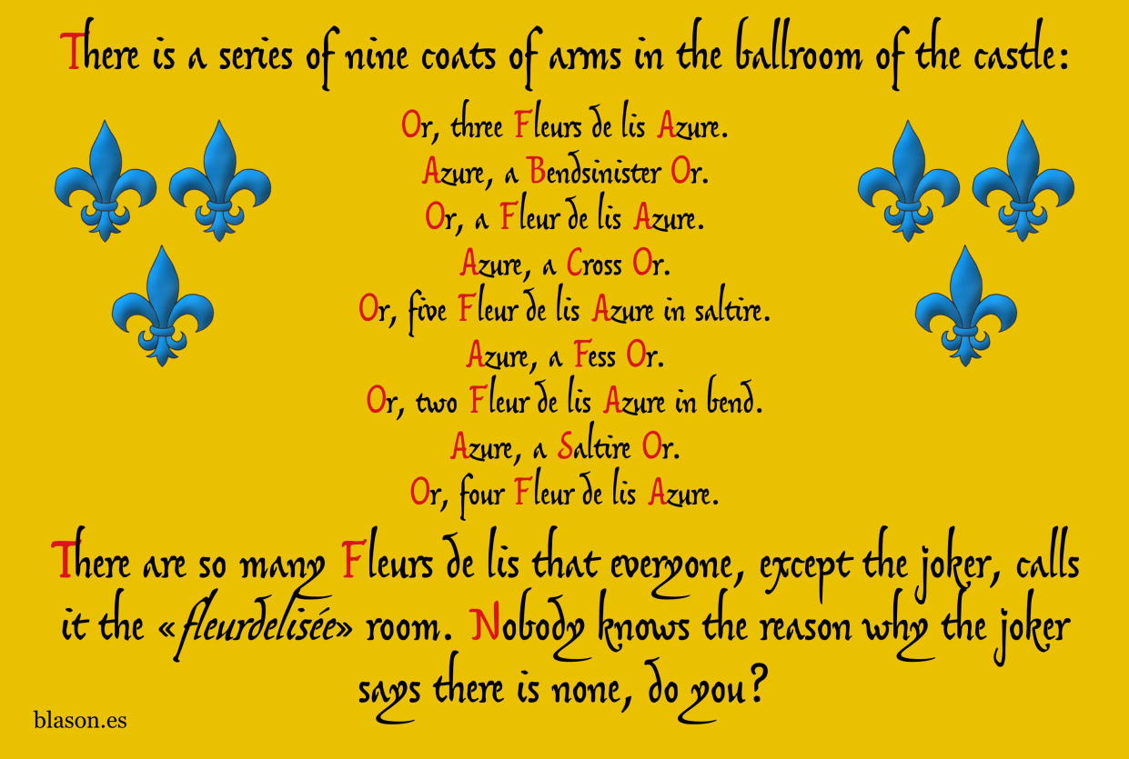 Riddle369 22 Fleurdelisee 9CoatsOfArms jpg