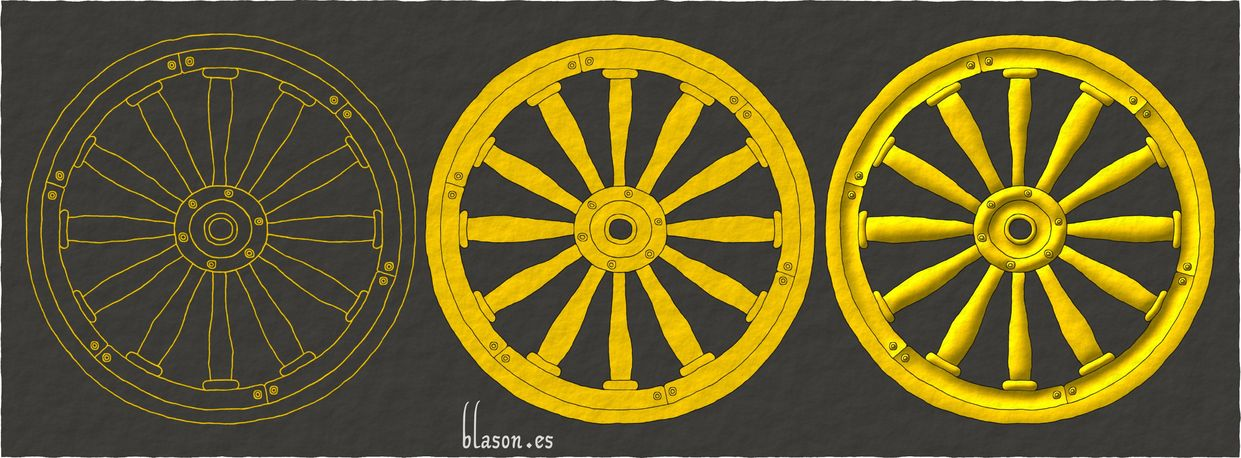 How I emblazoned a Wheel Or.