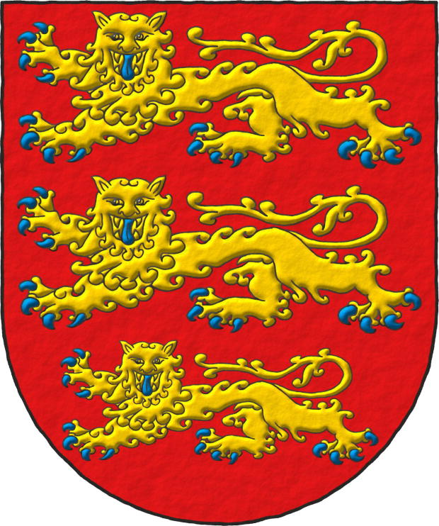European origin three lions ~ Origen europeo tres leones